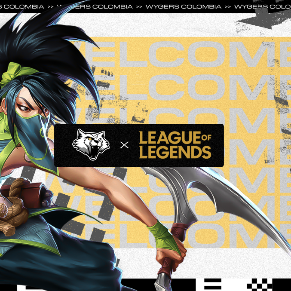 Nuevo equipo de League of Legends en Wygers Colombia